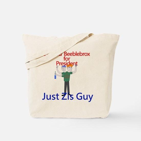 Zaphod Beeblebrox for President Tote Bag