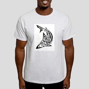 Tribal Shark Light T-Shirt