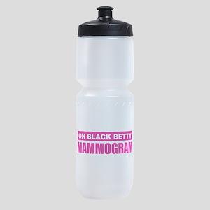 Black Betty Mammogram Sports Bottle