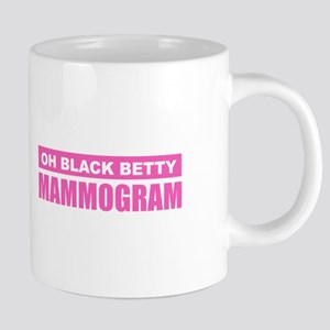 Black Betty Mammogram Mugs