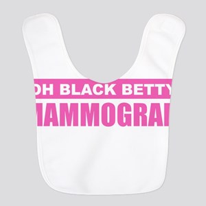 Black Betty Mammogram Polyester Baby Bib