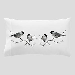 chickadee song bird Pillow Case