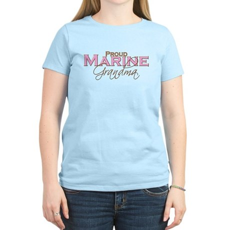 Proud Marine Grandma Women's Light T-Shirt