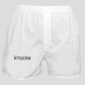 My Size Boxer Shorts