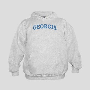 Vintage Georgia Kids Hoodie