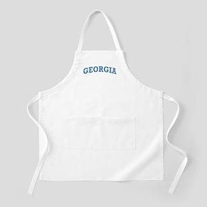 Vintage Georgia BBQ Apron