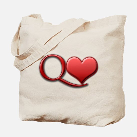 """Queen of Hearts"" Tote Bag"
