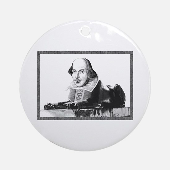 Shakesphinx Ornament (Round)