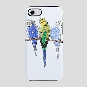 Glitter Budgie iPhone 8/7 Tough Case