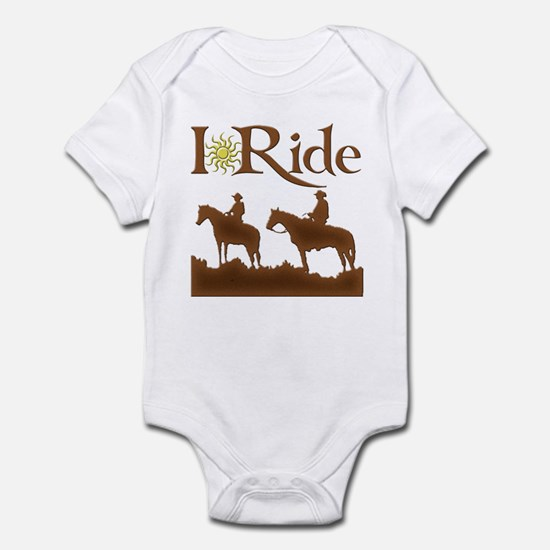 I Ride Infant Bodysuit