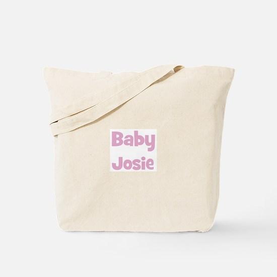 Baby Josie (pink) Tote Bag