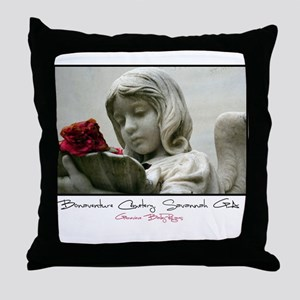 Bonaventure Cemetery Throw Pillow