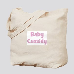 Baby Cassidy (pink) Tote Bag