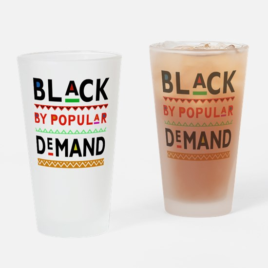 Unique Afrocentric Drinking Glass