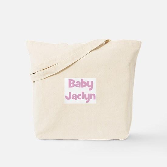 Baby Jaclyn (pink) Tote Bag