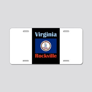 Rockville Virginia Aluminum License Plate