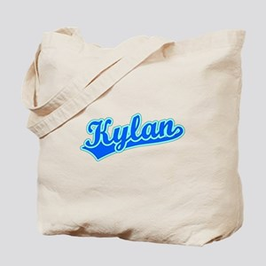 Retro Kylan (Blue) Tote Bag