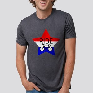 RIDE, RED WHITE & BLUE T-Shirt