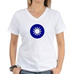 Republic of China Women's V-Neck T-Shirt