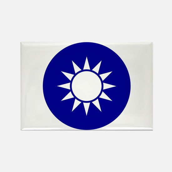 Republic of China Rectangle Magnet