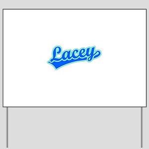 Retro Lacey (Blue) Yard Sign