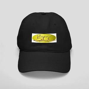 50th Wedding Anniversary Black Cap