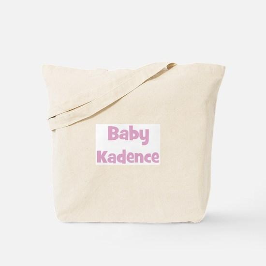Baby Kadence (pink) Tote Bag