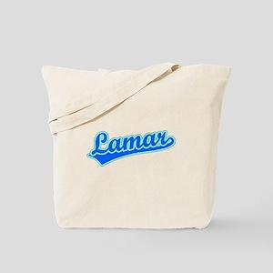 Retro Lamar (Blue) Tote Bag