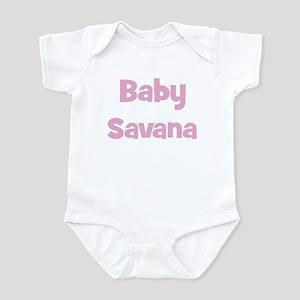 Baby Savana (pink) Infant Bodysuit