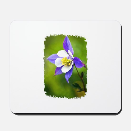COLUMBINE FLOWER Mousepad