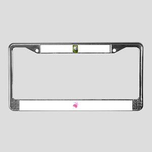 COLUMBINE FLOWER License Plate Frame