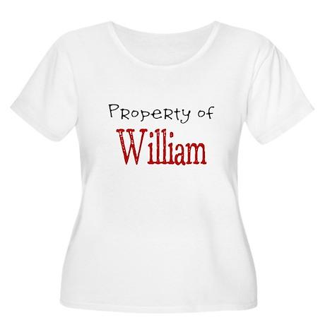 William Women's Plus Size Scoop Neck T-Shirt