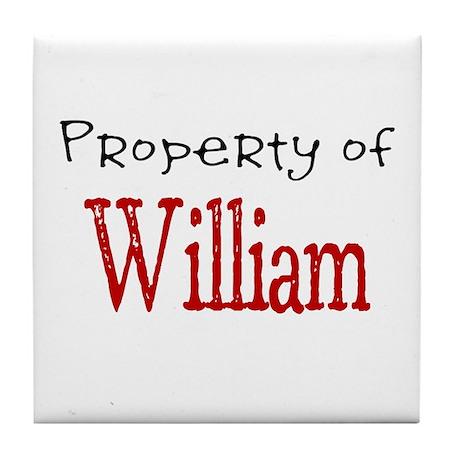 William Tile Coaster