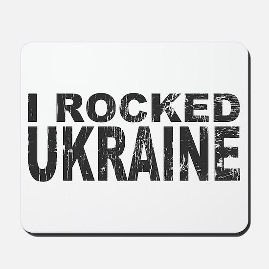 I Rocked Ukraine Mousepad