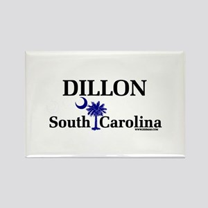Dillon South Carolina Rectangle Magnet
