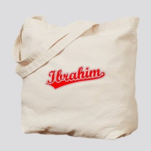 Retro Ibrahim (Red) Tote Bag