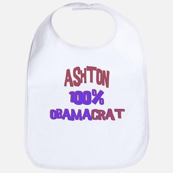 Ashton - 100% Obamacrat Bib