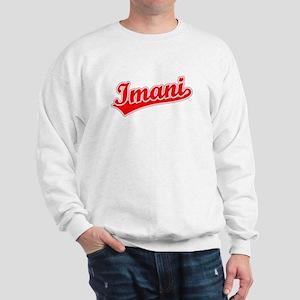 Retro Imani (Red) Sweatshirt