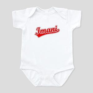 Retro Imani (Red) Infant Bodysuit