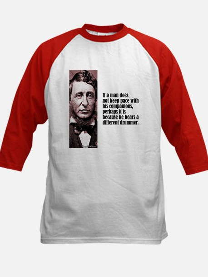"""Thoreau """"Different Drummer"""" Kids Baseball Jersey"""