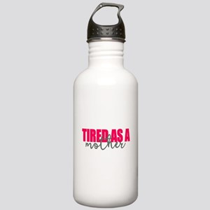 Tired as a mother Stainless Water Bottle 1.0L