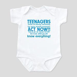 Teenagers Infant Bodysuit
