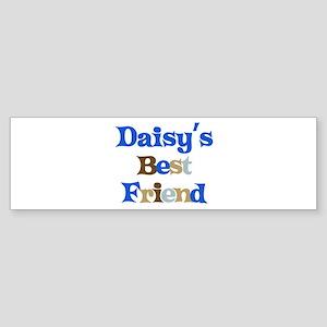 Daisy's Best Friend Bumper Sticker