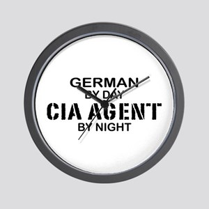 Germany CIA Agent by Night Wall Clock