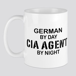 Germany CIA Agent by Night Mug