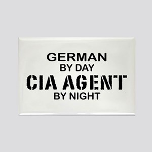 Germany CIA Agent by Night Rectangle Magnet