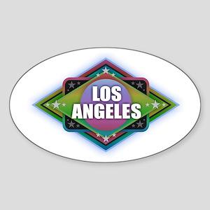 Los Angeles Diamond Sticker