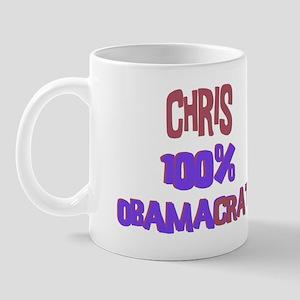 Chris - 100% Obamacrat Mug
