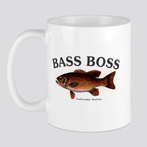 1120 Bass Boss Smallmouth Mug