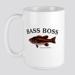 1110 Bass Boss Largemouth Large Mug